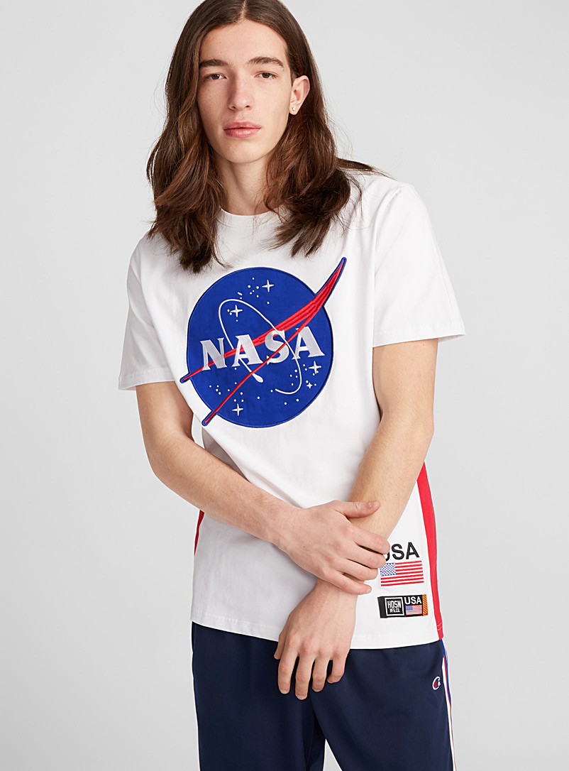 NASA meatball patch T-shirt - Prints - White