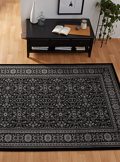 Traditional floral rug