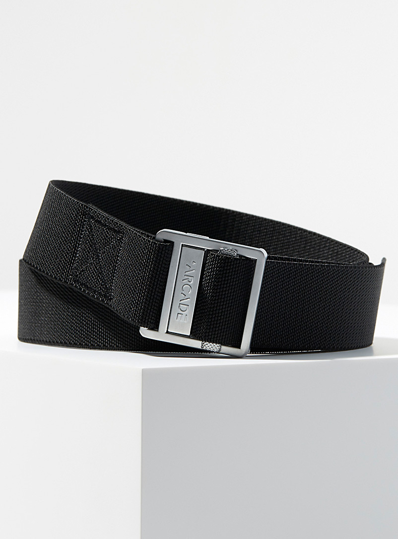 Arcade Black Guide automatic belt for men