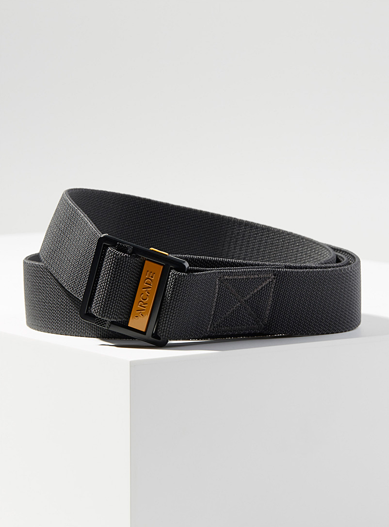 Arcade Light Grey Guide automatic belt for men