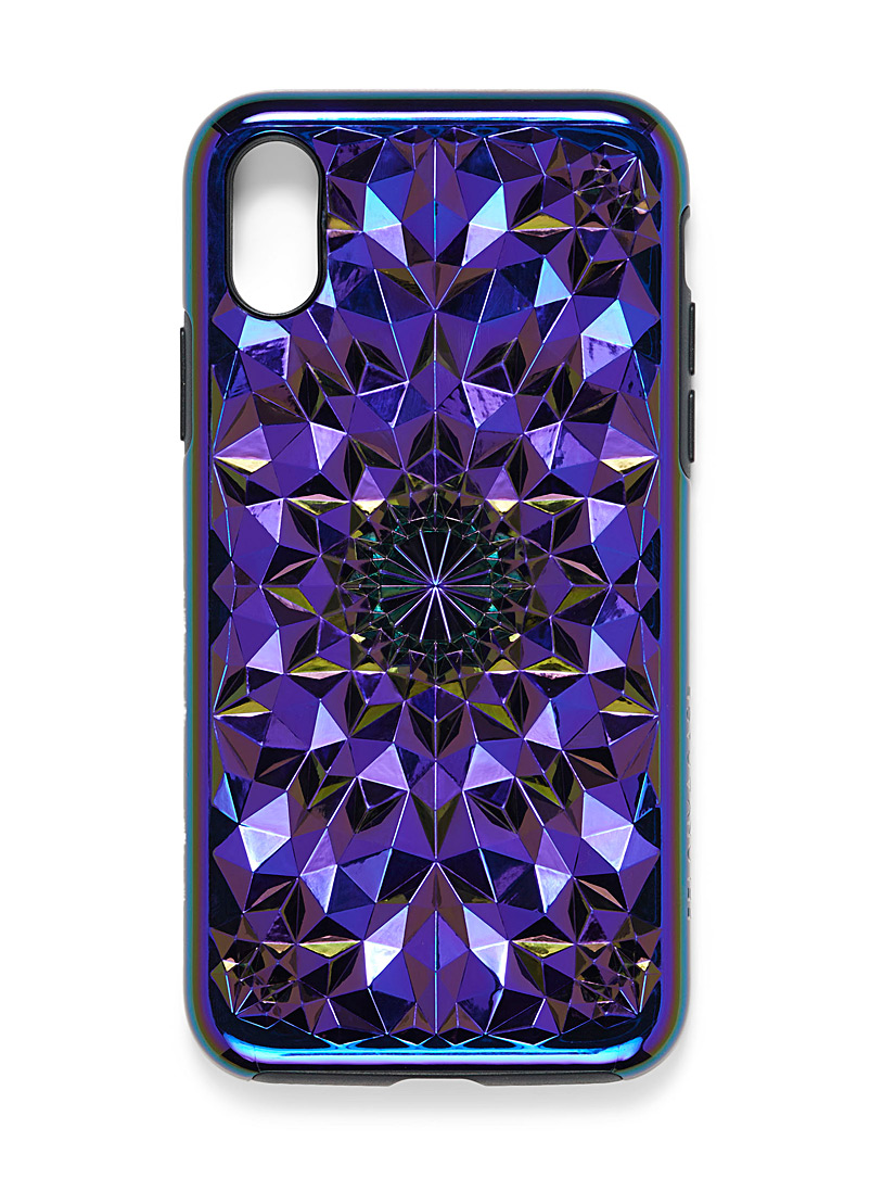 Felony Case Assorted Iridescent 3D kaleidoscope iPhone X/Xs case for women