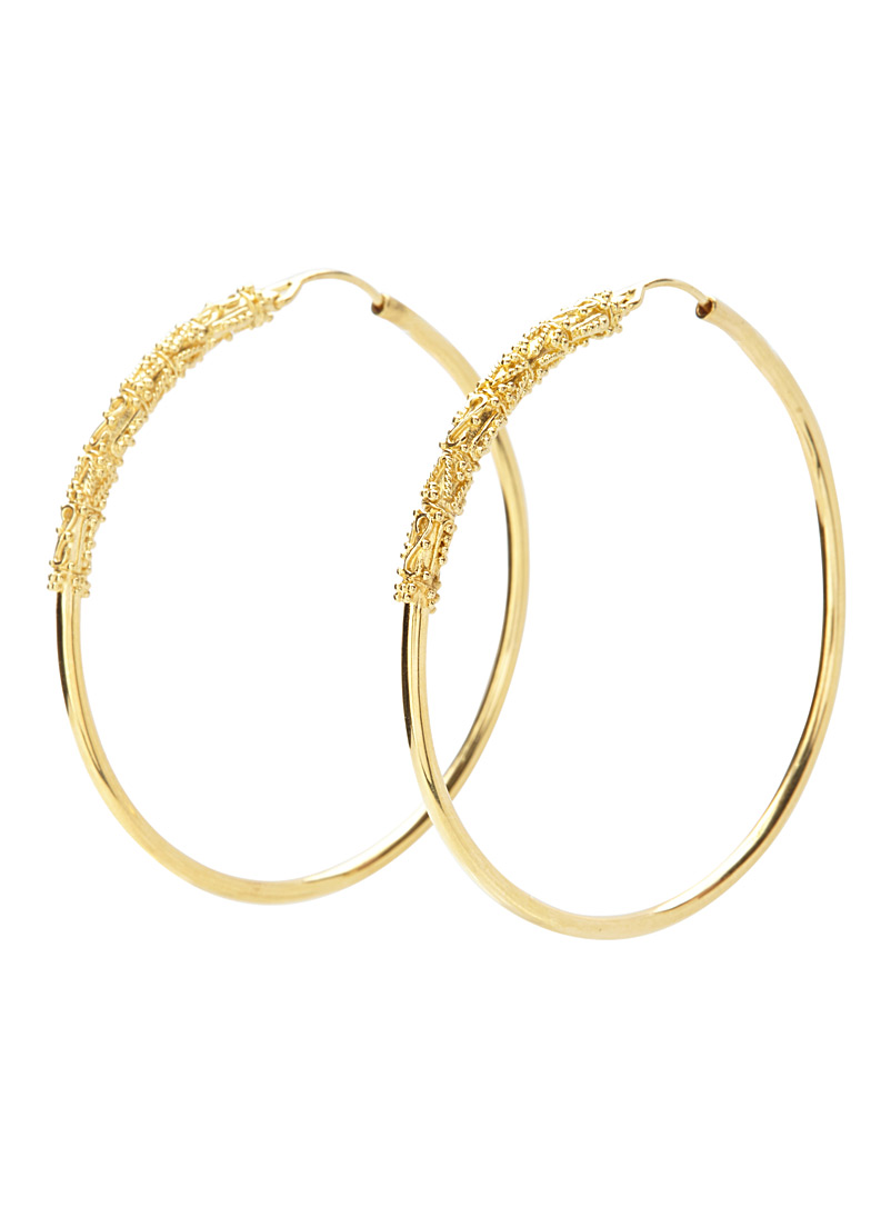 Kebaikan gold hoops - Earrings - Assorted