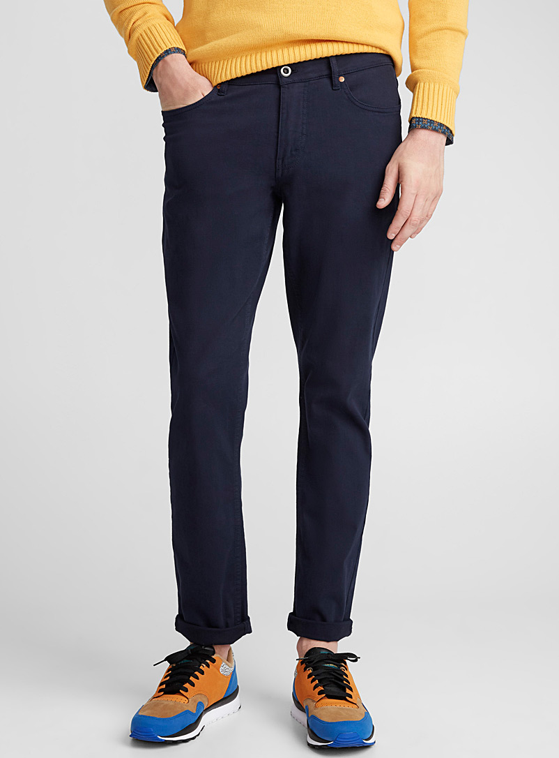 5-pocket stretch chinos  Stockholm fit - Skinny - Super skinny & Skinny fit - Blue