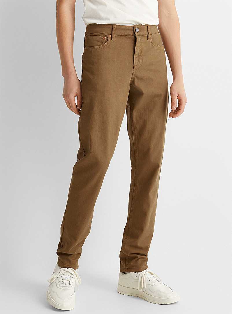 5-pocket stretch organic cotton pant  Stockholm fit-Slim