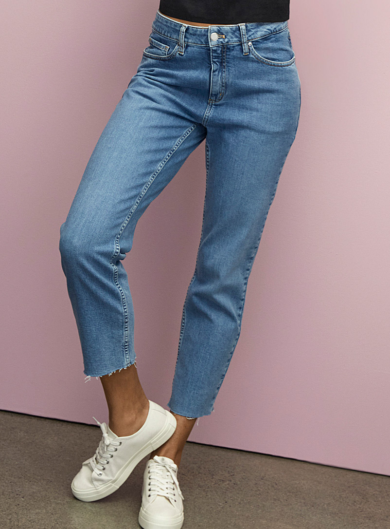 Organic cotton relaxed jean