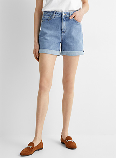 Eco-friendly denim short