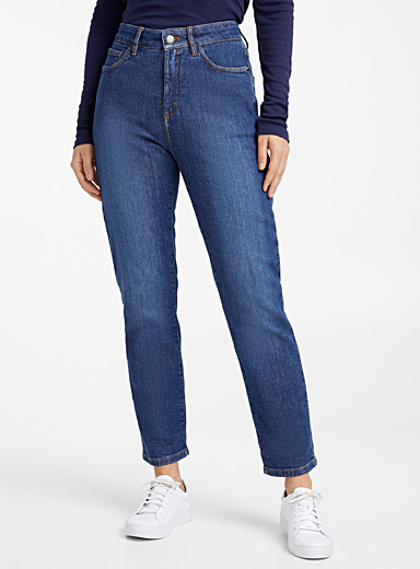 Organic cotton relaxed-fit jean