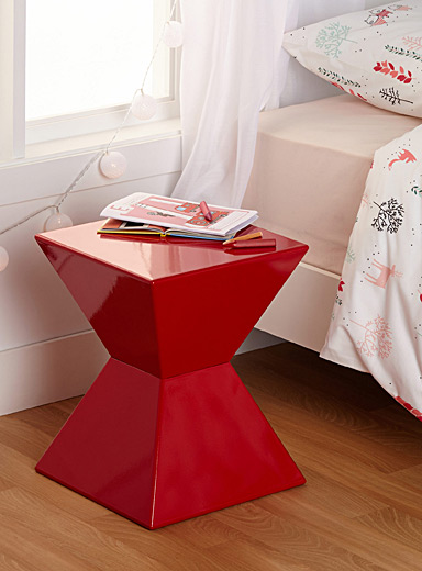 Vibrant cocktail end table