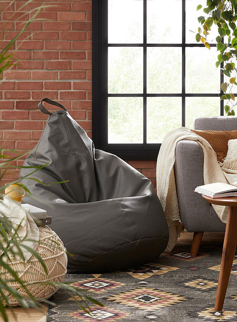 Norka Living Black Pear bean bag