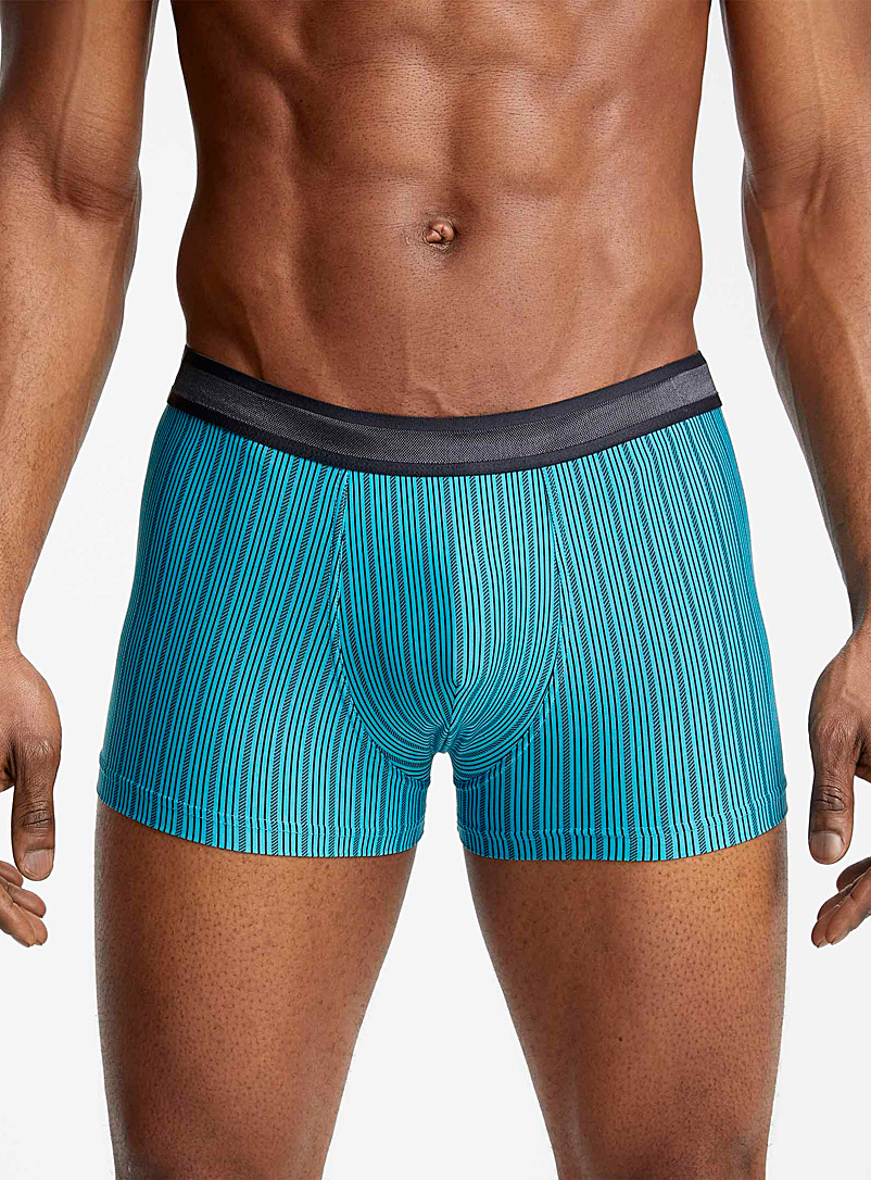 Le 31 Teal Aqua jacquard trunk for men