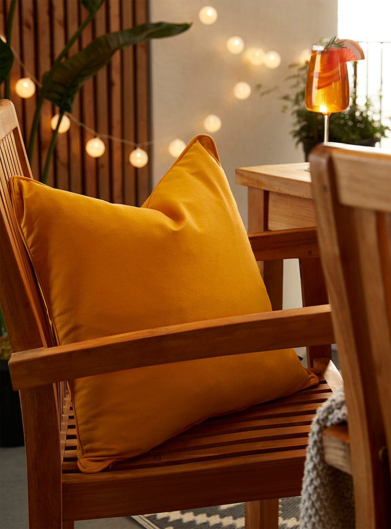 Simons Maison Dark Yellow Blazing sun outdoor cushion  18