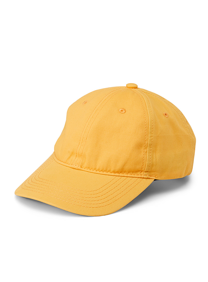 Basic cap - Caps - Dark Yellow