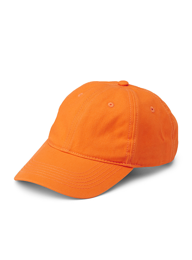 Basic cap - Caps - Orange