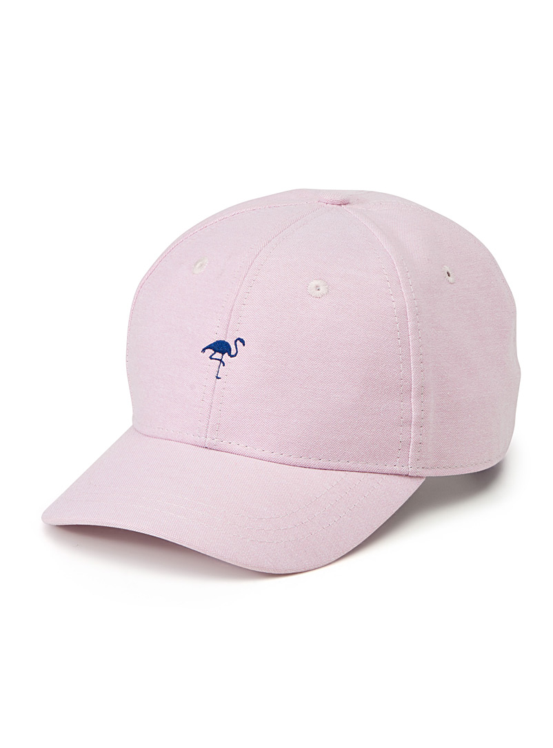 Minimalist patch cap - Caps - Pink