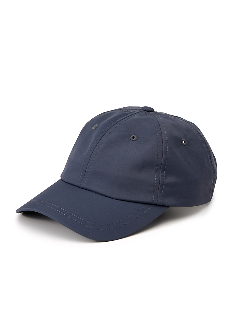 Satiny baseball cap - Caps - Marine Blue