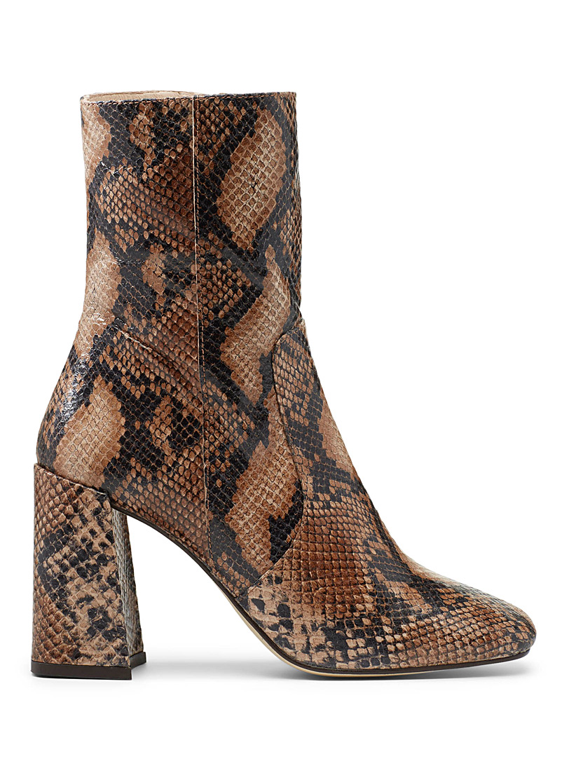 Voice high-heel boots - Heels - Patterned Brown