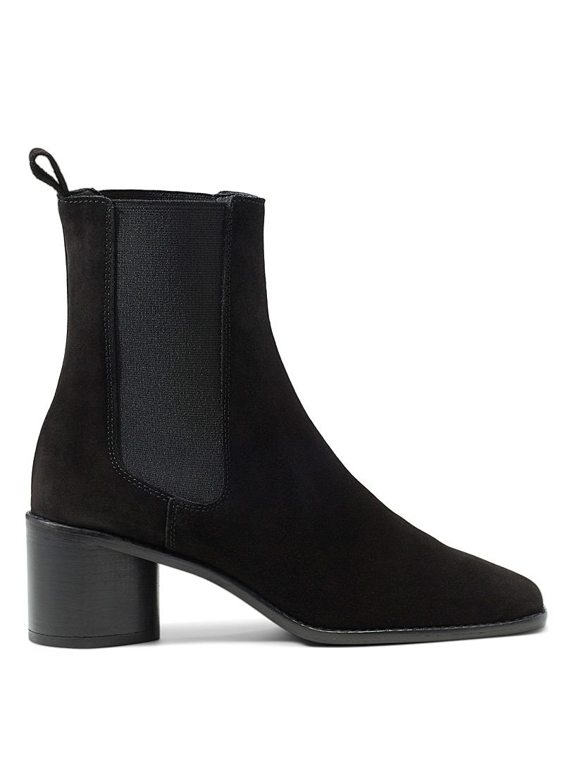 Jonak Black Bergamot Chelsea boots for women