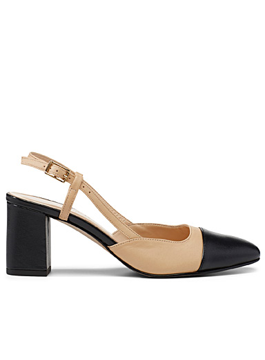 Jonak Tan Dhapop pump for women