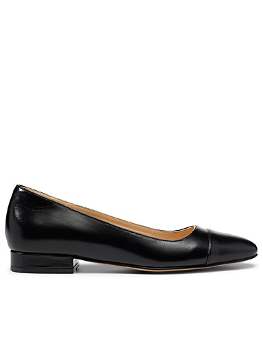 Jonak Black Danero ballet flats for women