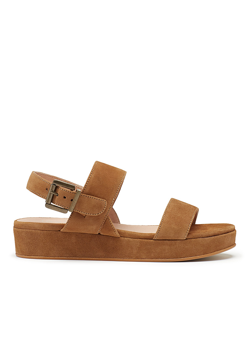Bento wedge sandals - Sandals - Fawn