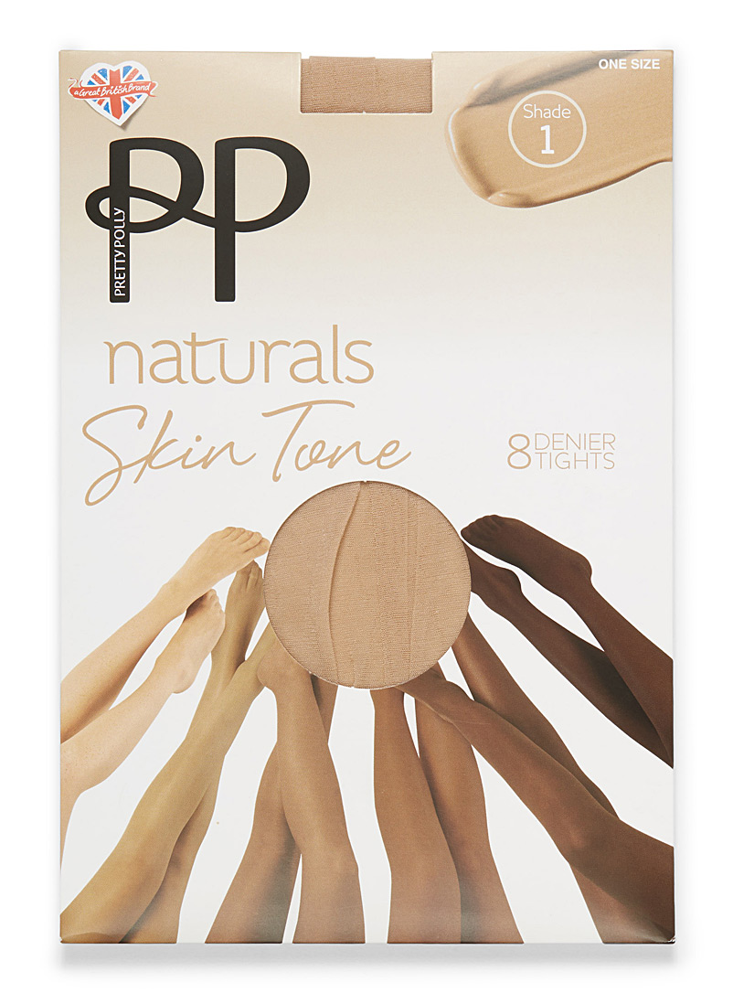 Natural stockings - Regular Nylons - Ivory White