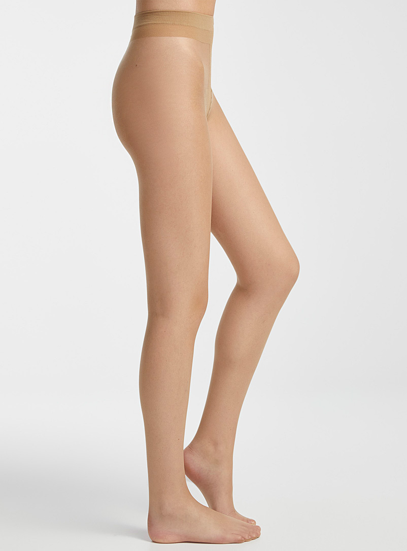 Pretty Polly Tan Natural stockings for women
