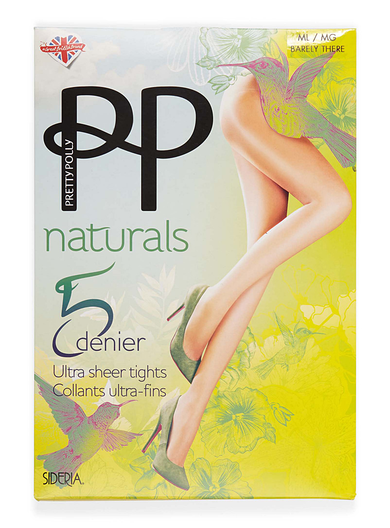 Pretty Polly Sand Ultra thin pantyhose for women