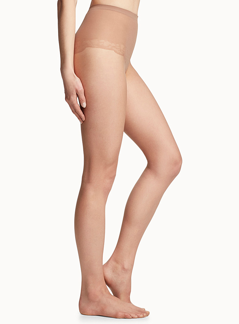 Pretty Polly Fawn Oil-finish pantyhose for women