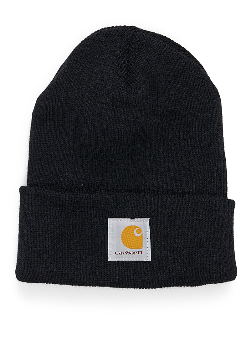 Ribbed workwear tuque - Tuques - Black