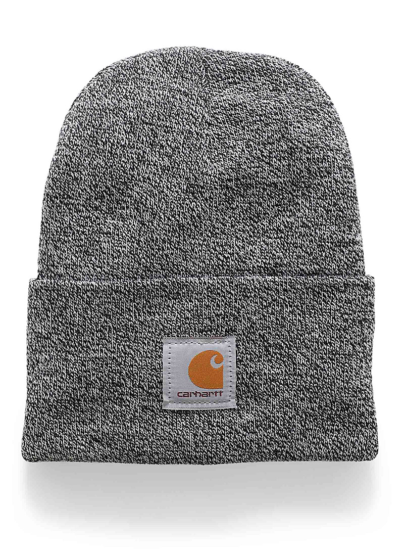 Carhartt Black Ribbed workwear tuque for men