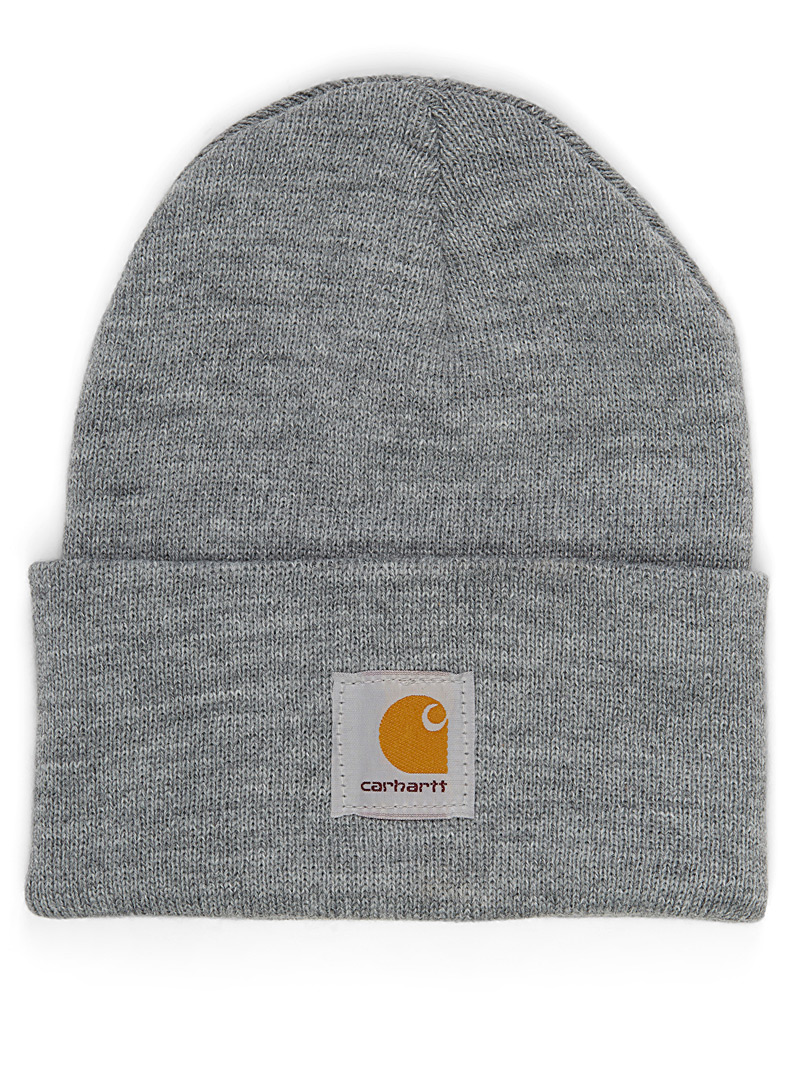 Carhartt Grey Ribbed worker tuque for women
