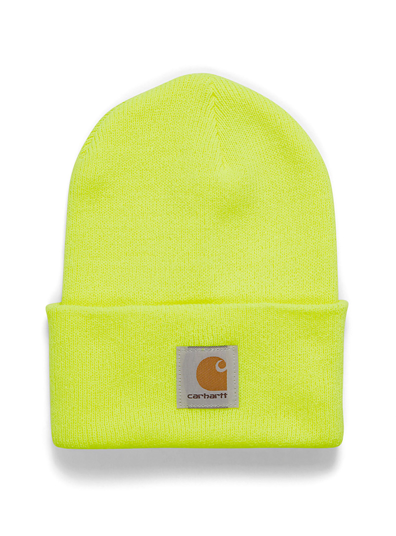 Carhartt Black Ribbed worker tuque for women