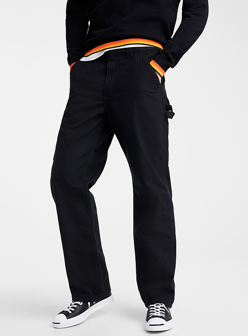XXL worker pant  Loose fit - Straight fit - Black
