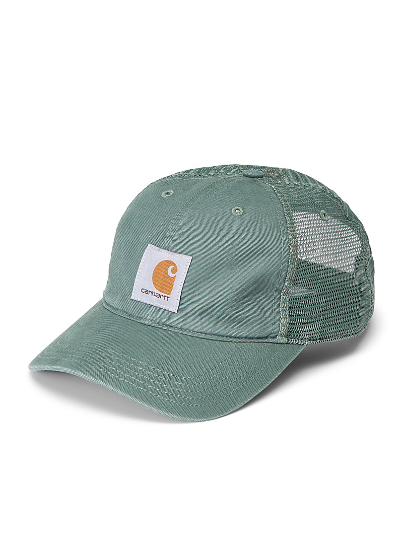 Carhartt Khaki Buffalo trucker cap for men