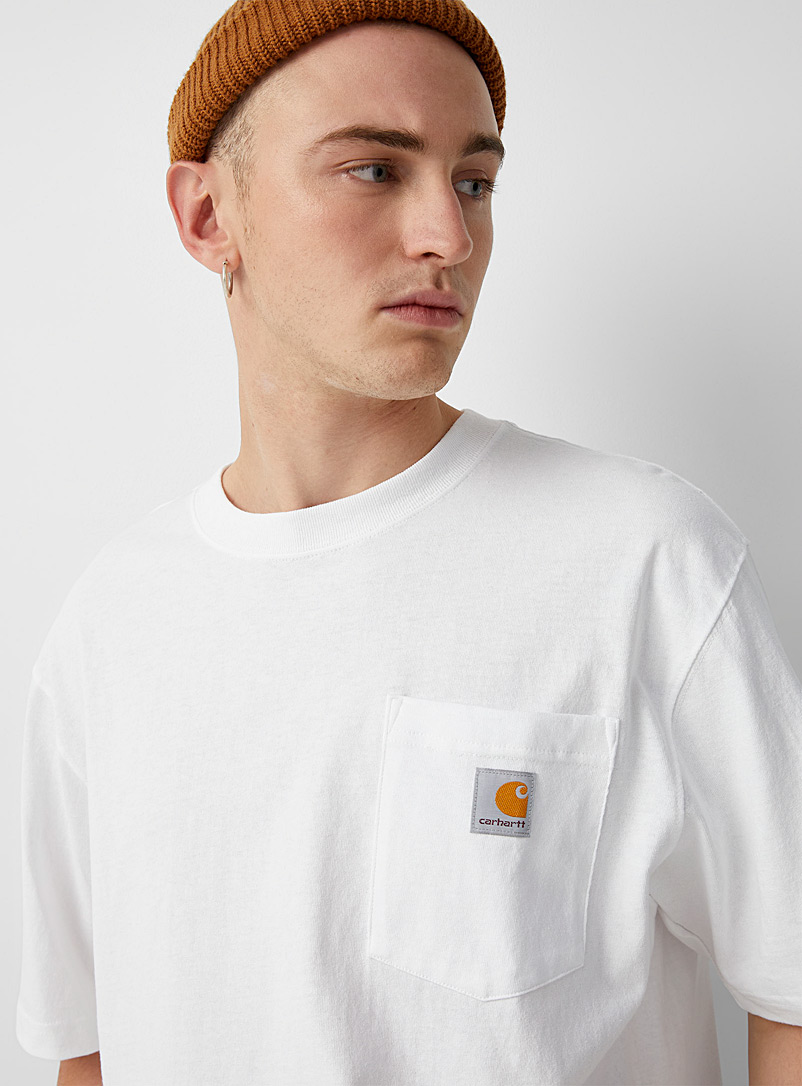 Workwear pocket tee - Logo wear - White