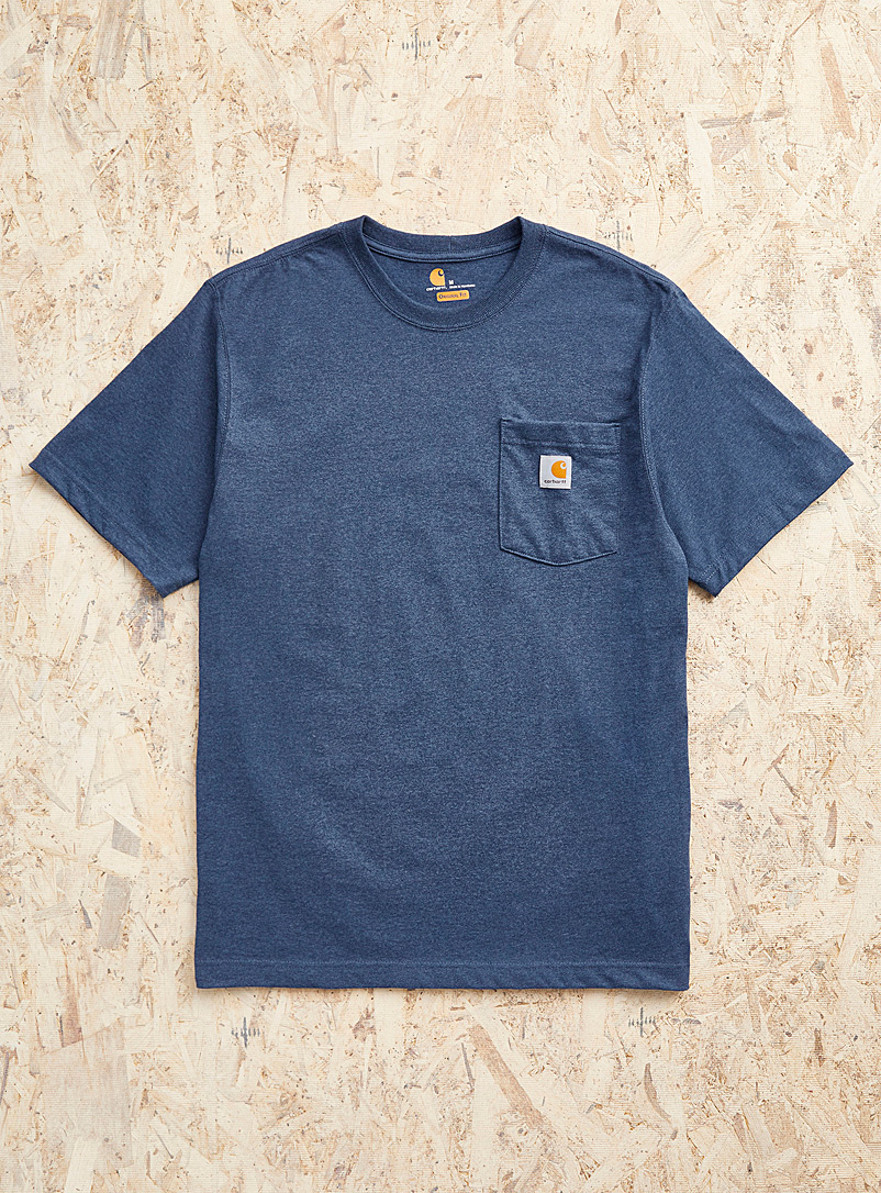 Carhartt Grey Workwear pocket T-shirt for men
