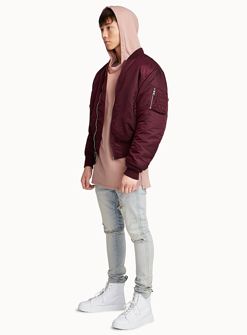 Reversible bomber - Jackets & Vests - Ruby Red