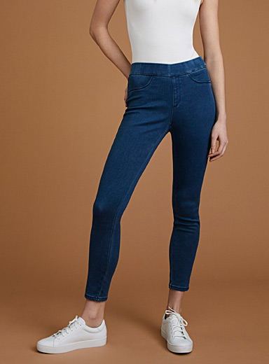 Smokey-blue jegging