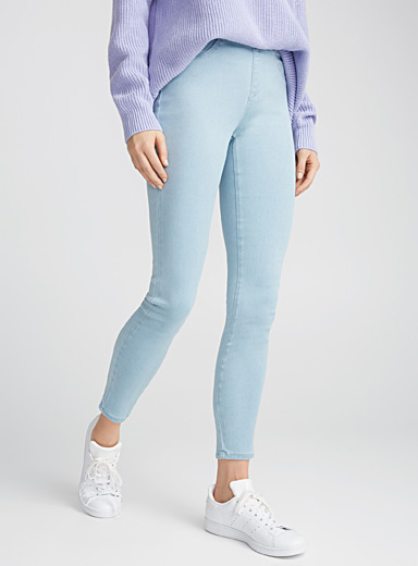 Authentic blue jegging