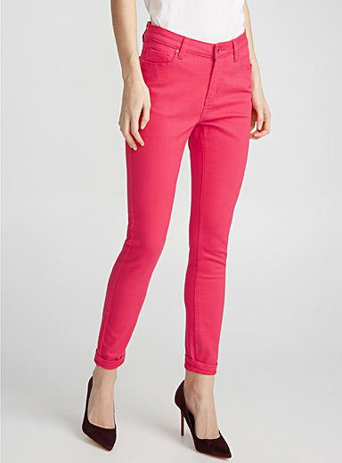 Bright stretch jean