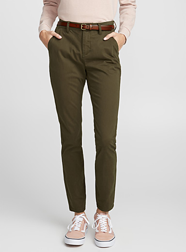 Brushed cotton pant