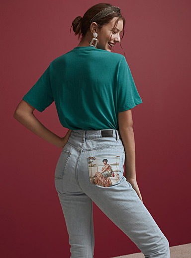 Le mom jeans Sappho gourmande <br>Coupe Indie