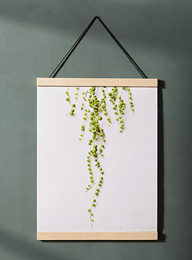 String of pearls poster  15&quote; x 18&quote;