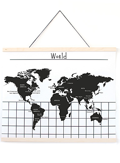 L'affiche World Map