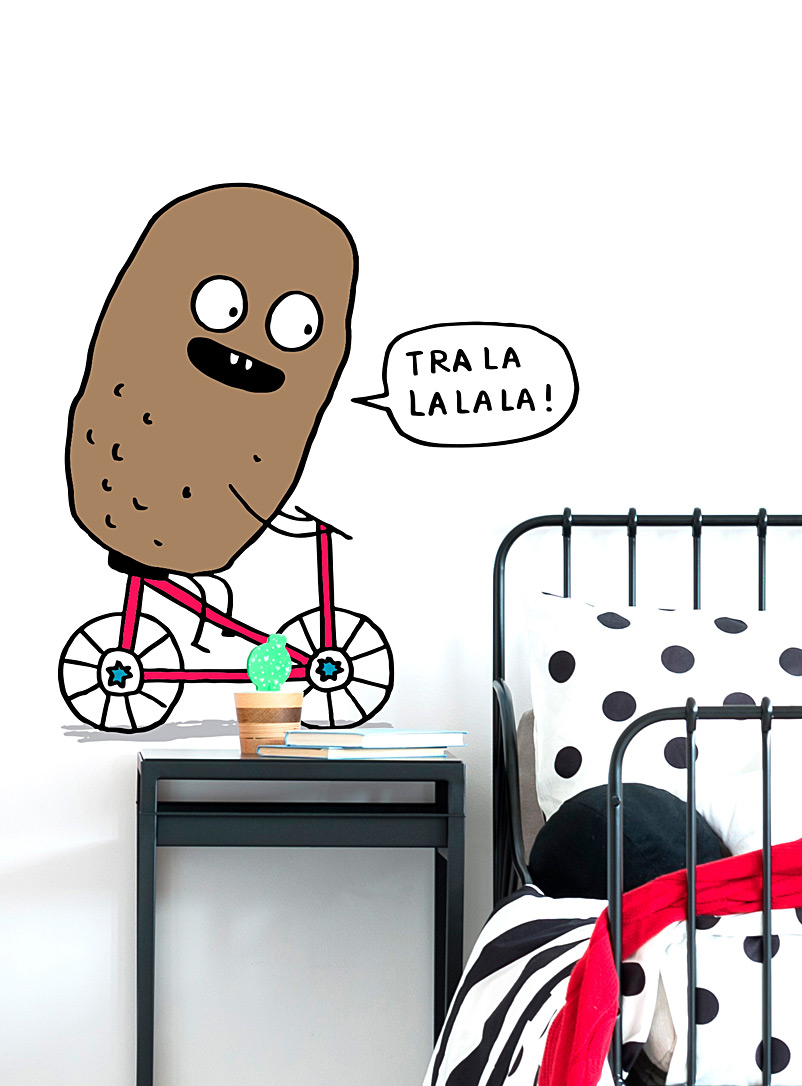 chatty-potato-wall-sticker