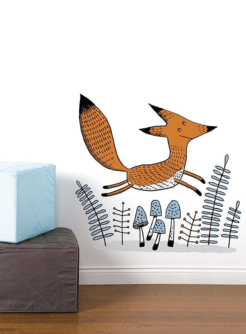 happy-fox-wall-sticker