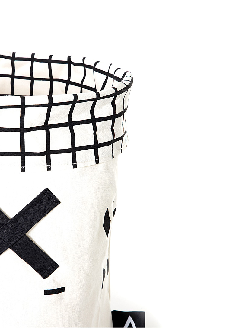Geometric Olé! toy hamper - Kids - Black and White