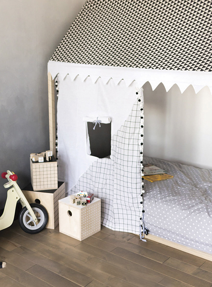 Geometric playhouse cover - Accent Furniture