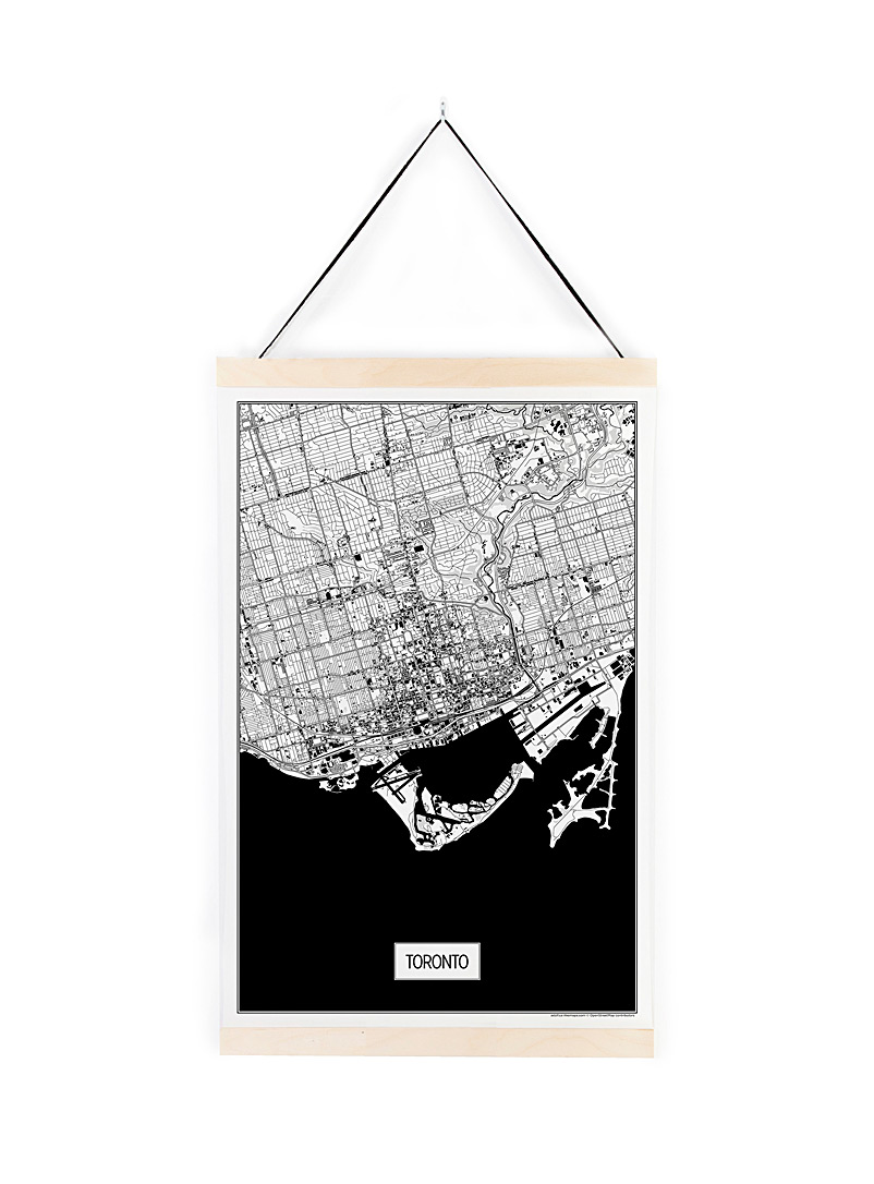 Toronto adventure poster - Art - Black and White