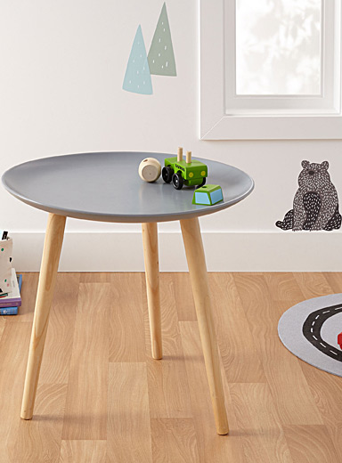 Mouse grey end table
